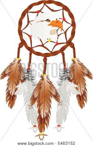 Eagle Head Dreamcatcher