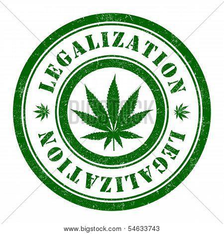 Stamp of Marijuana