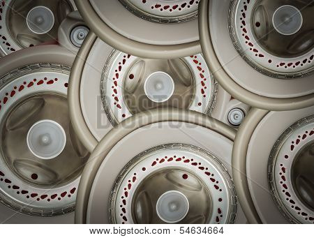 Heap Of Rotary Background