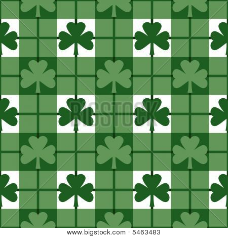 Shamrock Plaid Pattern
