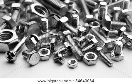 bolts, nuts, screws
