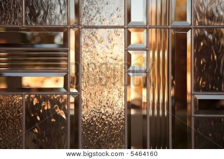 Beautiful Beveled Glass Window