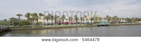 Historic Daytona Florida Pano