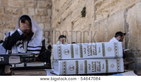Prayers At The Western Wall