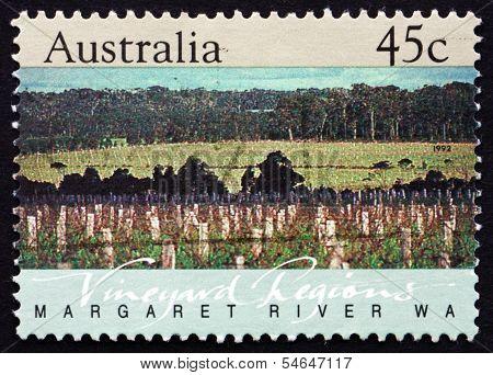 Postage Stamp Australia 1992 Margaret River, Western Australia