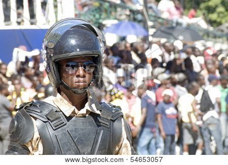 Anti-Riot Soldier, Haiti