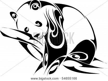 Panda Sleep Tribal