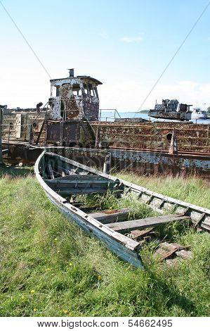 Old Sea Boat