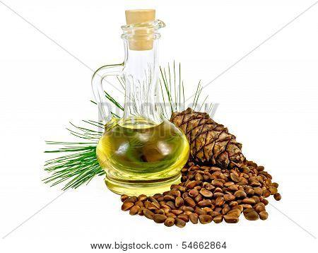 Oil Cedar Cones And Nuts