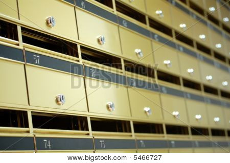 Appartment Letter Boxes