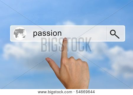 Passion On Search Bar