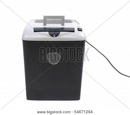 paper shredder isolated on a white background
