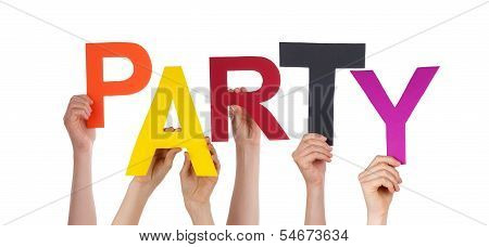 People Holding Party