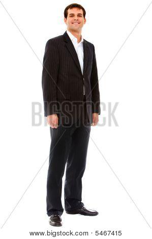 Fullbody Businessman