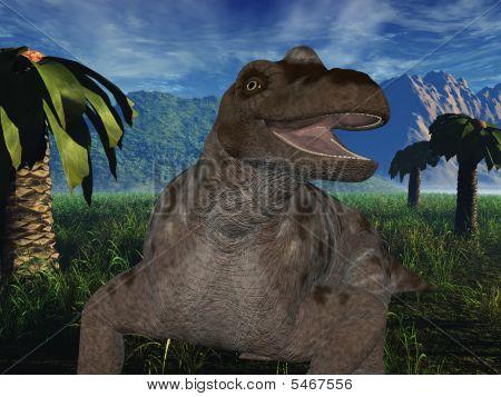 Keratocephalus - 3D Dinosaur