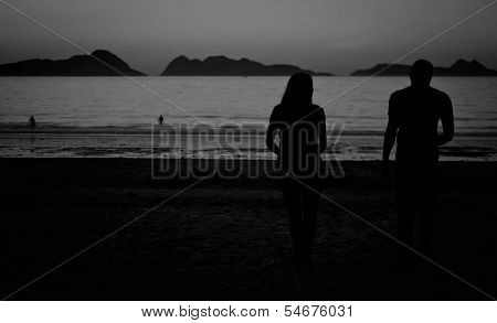 Couple in Beach