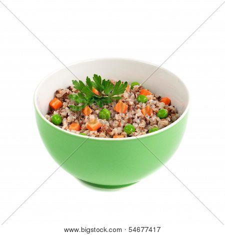Porridge With Vegetables