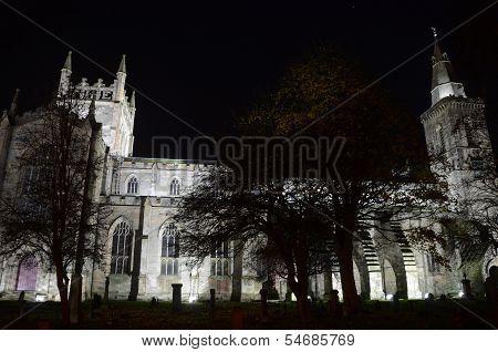 Abbey Church and Graveyard