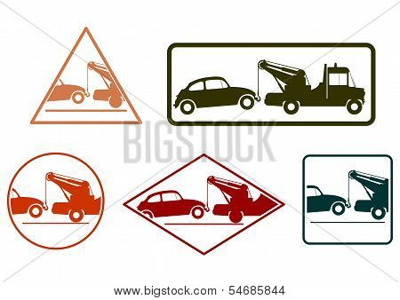 Tow Truck Stamp Set