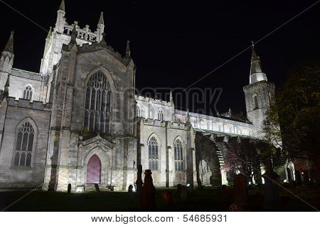 Night Time at Abbey Church