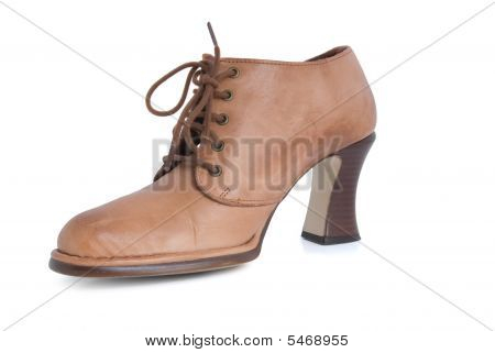 Female Brown Boot