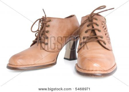Female Brown Boots