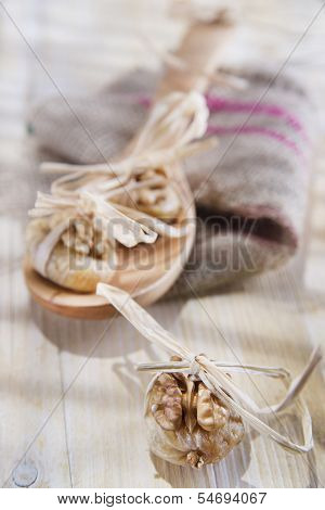 Dried Figs And Nuts
