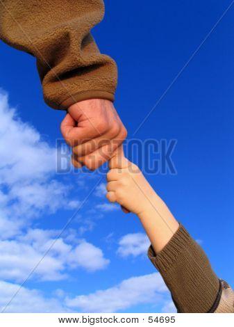 Ñhild-daddy-hand
