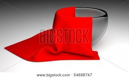 Cloth In Bowel