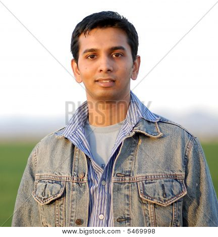 Handsome Young Indian Man