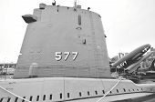stock photo of growler  - Particular of Growler submarine in New York - JPG