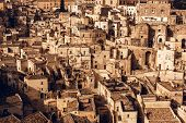 image of sassy  - Sassi the historic center of the city Matera in Italy - JPG