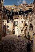 pic of sassy  - Sassi the historic center of the city Matera in Italy - JPG