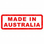 Stamp of made in Australia