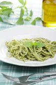 Spaghetti With Pesto Sauce poster