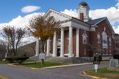Bath County, Virginia Courthouse
