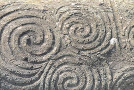 picture of celtic  - Rock detail with the famous pre - JPG