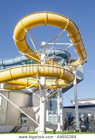 Flumes, Basingstoke Aquadrome