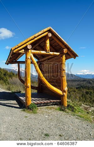 Bus Station In Patagonia