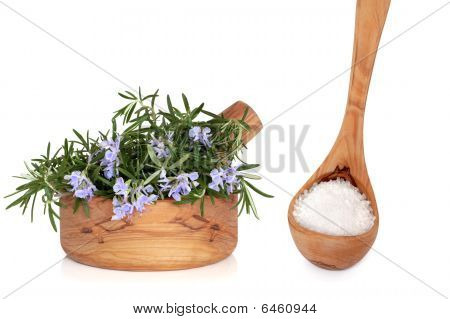 Sea Salt And Rosemary Herb