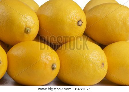 stack of lemons
