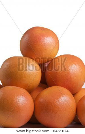pyramid of grapefruits