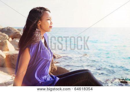 Pretty Girl Relaxing
