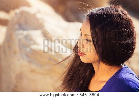 Young Lady Thinking