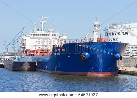 Antwerp Oil Tanker