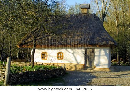 Typical Thatched Roof House