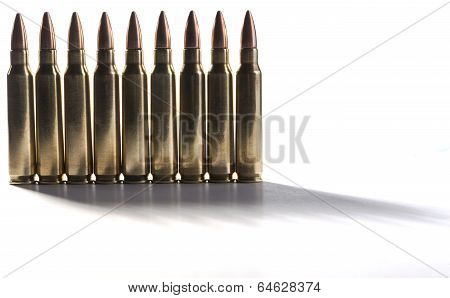 Standing Bullets