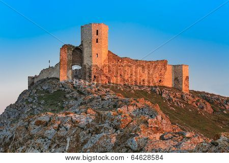 Antique Fortress Ruins. Enisala