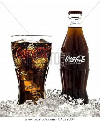 Coca-Cola Branded Glass