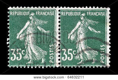 France sower stamp 1906